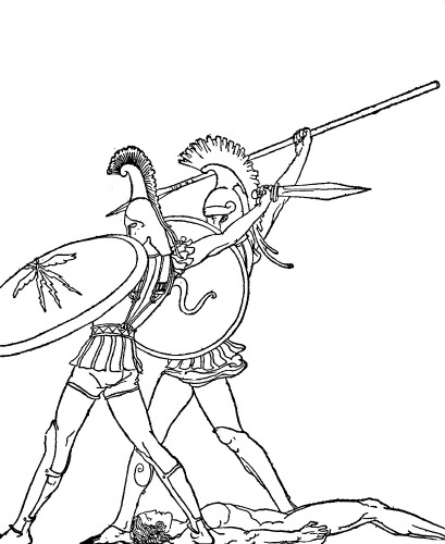 adventures in odyssey coloring pages - odysseus sketch pictures to pin on pinterest pinsdaddy